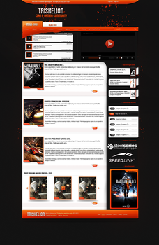 Triskelion Web Layout by byEhra