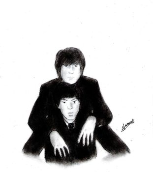 Lennon and McCartney by GIAN092