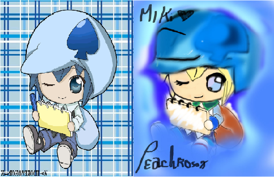 First ever coloring =w= by peachrose123