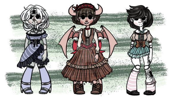 Offer to Adopt Monster Girls! II closed II by StarryEvening