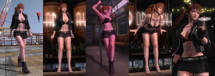 DOA5LR Mod: Streetwise Girl (UPDATE) by repinscourge