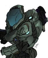 Fan Art Halo Reach Elite by SkyCrawlers