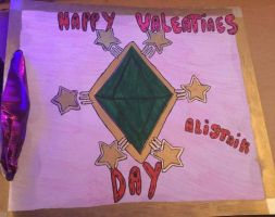 The Sims themed valentine's card! by MadameButterfly94