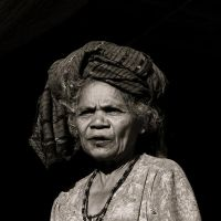 Elderly Woman II by Sinaga