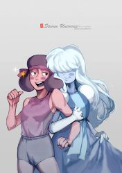 Ruby and Sapphire by MUITOTW
