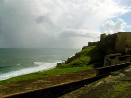View from Old San Juan by KealeS