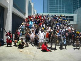 VAlve gathering 2011 animeexpo by Ghost141