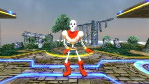Papyrus for Super Smash Bros. Switch by SCP-096-2