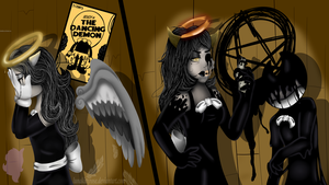 A devil made from heaven and sent from above by LunaKittyRose