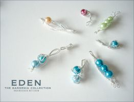 .EDEN. the gardenia collection by lululinart