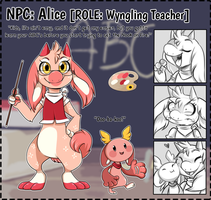 NPC: Alice by Wyngrew