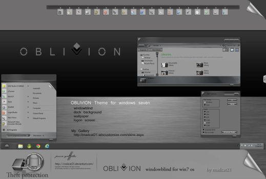 Oblivion Wb Pack by coolcat21