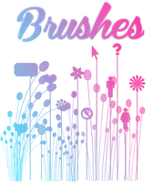 Pack de Brushes para Pixlr- No son mios by LaliEditions