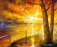 The Sweetness Of The Sun by Leonid Afremov by Leonidafremov