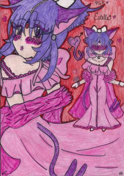 Valentine's Day Gown by Midnight-Luv-Kitten