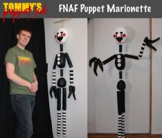 FNAF Puppet Marionette (really works) by TommyGK