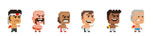 VG - NES Punch Out World Circuit by Pixelfigures