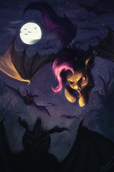 A Bat Bat Pony by AssasinMonkey