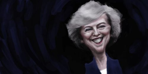 Theresa May by DVLArt