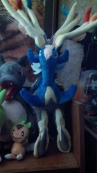 Xerneas Plush by Sliverbolt