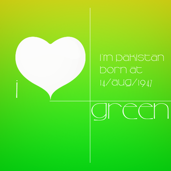 I Love Green by ArsalanAly