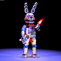 Funtime Bonnie Extras V2 by The-Smileyy