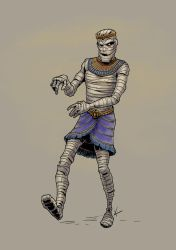A mummy by KatLouhio