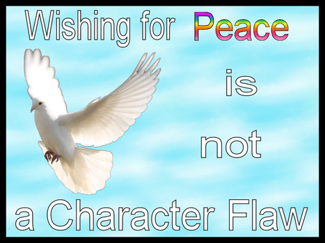 Wishing for Peace by RufusShinra4179