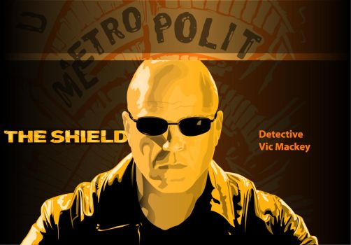 The Shield - Vic Mackey by Steve126a