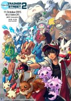 Pokemon only event poster by Sa-Dui