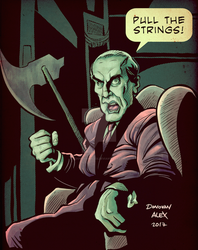 Martin Landau as Bela Lugosi by donovanalex