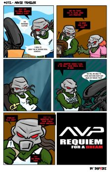 AvP: Requiem for a Dream by Defriki