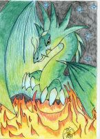 Dragon of Fire 2 by Sheep-in-the-moon