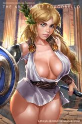 Sophitia from Soul Calibur - Patreon SFW by AleBorgo