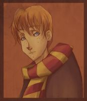 Ron Weasley by eris212