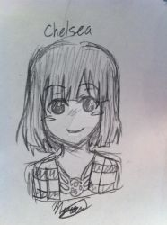 Commision Chelsea by melkiechan