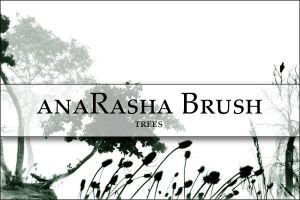 Tree brush 2 by anaRasha-stock