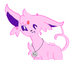 Espeon is Fabulous by DragonWolfGirl2