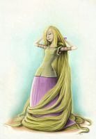 Rapunzel by gb-illustrations