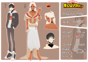 bnha oc: minhyuk [bio] by seungcheol