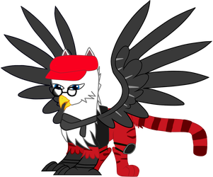 Red Tiger - Griffin OC Vector by Nevel7