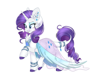 Rarity (Simple shade) by Silent-Shadow-Wolf