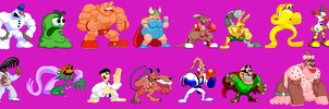 CPS2 Clayfighter (update) by 860288840