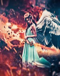Heavenly Warrior by IAMCRIME