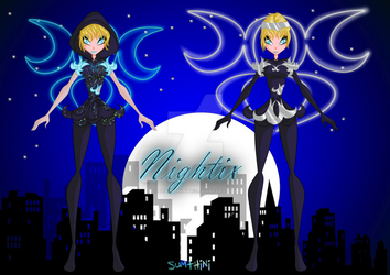 Eloise Nightix+Moonightix(Lottery Prize) by xXSumthiniXx