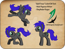 Quill Trace Color/CM Test by TinkerTie