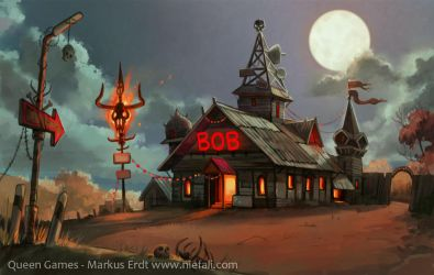 Armageddon - Church of the vengeful Bob by Vaejoun