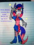 Oc Revealed: Ximena The Cat by Coffee-Karin