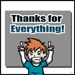 Thanks for Everything! by LAD210