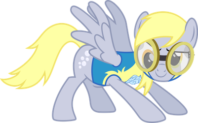 Psyched Cadet Derpy by ChainChomp2